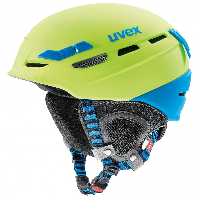 casco UVEX modello p8000 tour verde