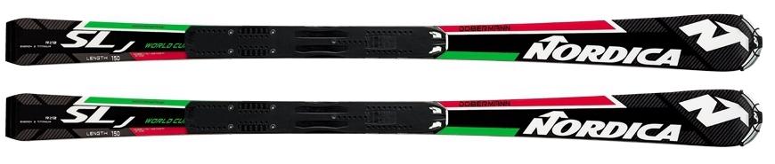 sci NORDICA Dobermann SLJ Plate con attacco Marker Race 10
